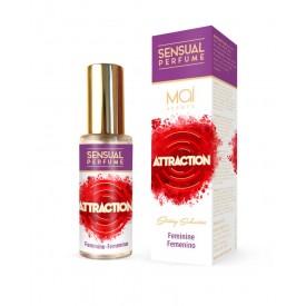 Женская парфюмированная вода FEMININE PERFUME WITH SENSUAL ATTRACTION - 30 мл.