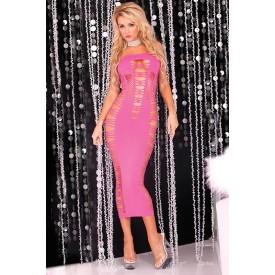 Длинное облегающее платье без бретелей BIG SPENDER SEAMLESS LONG DRESS